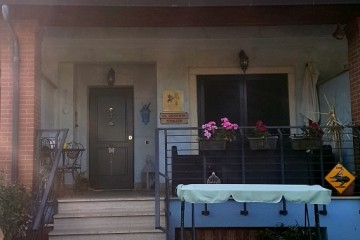 entrata del nostro affittacamere a Valmontone