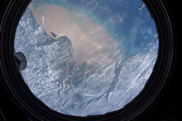 dall'oblo della ISS