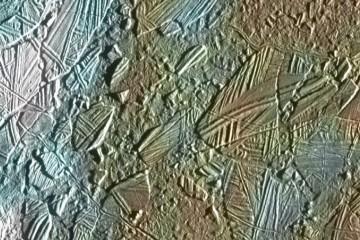superficie di Europa